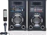 "Micromax ML-MX DJ wood Bookshelf bluetooth Speakers (Pair)8"" speaker"