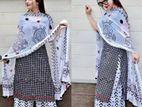 High Quality Cotton Fabric Three Piece