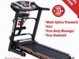 Treadmill Multifunction with Body Massager