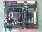 ECS H55H-M LGA1156 socket with core i7 860 processor black series