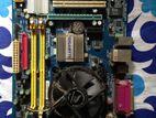 Gigabyte Motherbaord+ Core 2Duo Processor
