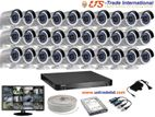 2MP Hikvision 30 Full HD CCTV Package With Monitor