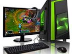 CORE i5 3RD GEN GAMING COMPUTER 8GB DDR-3+MONITOR 19''ALL NEW