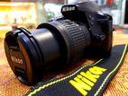 Nikon D3400 24mp Dslr with Lens