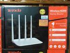 ফ্রি হোম সার্ভিস Tenda F6 4 Antenna Wall Killer Router 1Year Warranty