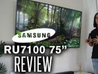 Thailand Made In Samsung RU7100 4K UHD LED Smart TV