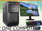 DESKTOP AMD Ryzen-3 3200G 4GB DDR-4 500GB 19''LED