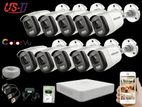 24 Hours Colour Hikvision 10pc camera Package