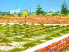 উত্তরার পাশে ৫ কাঠা নির্ভেজাল@উঁচু দেয়ালঘেরা প্লট@২৫' রোড
