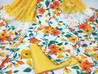 Joypuri Cotton Unstitch Printed 3Pcs