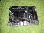 Gigabyte H110 6th/7th gen 100% fresh, new condition board 1year