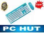 Wireless KeyBoard& Mouse Combo Micropack 1Year Warranty