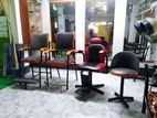 Chair (hair wash, party makeup, massage) parlor