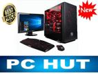 "Ram 12GB-Core i3 4th Gen-SSD 120GB-Hp 19""LED Monitor"