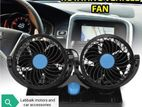 Car double fan