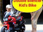 Kid's bike Key start charging ride on