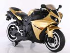 Golden colour Kid's R15 ride on electric