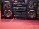 STREO SYSTEM WITH SPEAKER MADE IN KOREA.