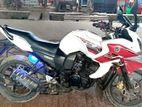 Yamaha Fazer সাদা/লাল কালার 2014