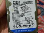 WD 320 laptop hdd