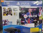 PS4 Slim FIFA 21 Dual Controller Bundle