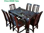 Dining Table : 6chir,Code-DT66