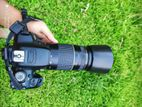 Canon 700d with 75-300 zoom lens
