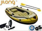 Jilong Fishman Inflatable Boat 300 Set 4 Person