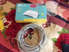Tp-link 300mbps Wireless N Router & 100 Fit Internet Cable