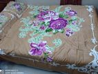Bed sheet with 2 pillow cover
