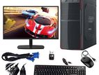 "4GB/1000GB intel 2nd Core CPU 20"" LED Monitor"
