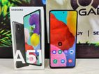 Samsung Galaxy A51 (6/128) full boxed (Used)