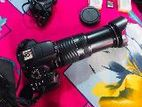 Canon 700d and 75-300 zoom lens