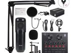 BM800 Professional Condenser microphone Complete package