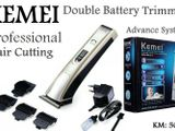 KEMEI (Double Battery) Rechargeable Trimmer KM 5017