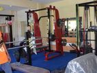 Full equipment in a gym center, latest