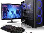 """NEW তৃতীয় জেন Core i5 /🌟/8GB গ্রাফিক্স Desktop & 20"""" LED"""