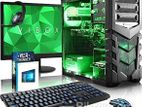 "New Gaming Core i5 _SSD 120GB HDD 2000GB 8GB 22"" LED"