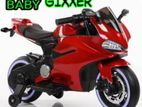 Ride on battery operated Child GIXXER E-bike