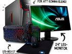 """নতুন 120GB SSD Core i5™ Desktop Computer LG 20"""" LED"""