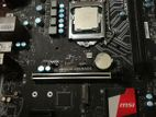 Msi B150M Grenade with i3 7100