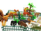 Mini Animal Zoo- Exclusive Play Sets 25+ pcs