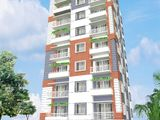 South, West, North Corner Flat Sale at Bashundhora With Gas Connection.