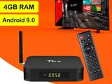 Super New TX6 4/64GB With Bluetooth Smart Android TV Box