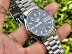 Exclusive DARK Gray Seiko 5 Automatic Watch