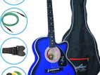 (Code : FHG 400) blues super guitar with full package