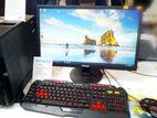 """নতুন Core i5 1000GB \ 8GB গ্রাফিক্স PC & 20"""" LG LED]"""