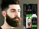 মুখভর্তি চাপ দাঁড়ি গঁজায় ও চুল পড়া বন্ধ করে-Beard Oil-Made In UAE