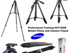 Aluminium Alloy YUNTENG VCT-5208 Video Bluetooth Tripod