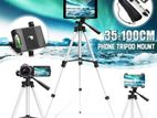 Professional Video Tripod - Silver